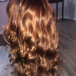 "Other - Virgin Human Hair Wig ""ginger"""